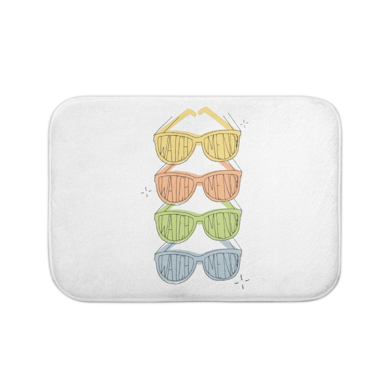 Like A TV Home Bath Mat by Cordelia Denise