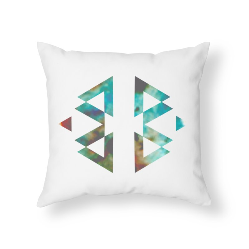 Geometriz Home Throw Pillow by Cordelia Denise