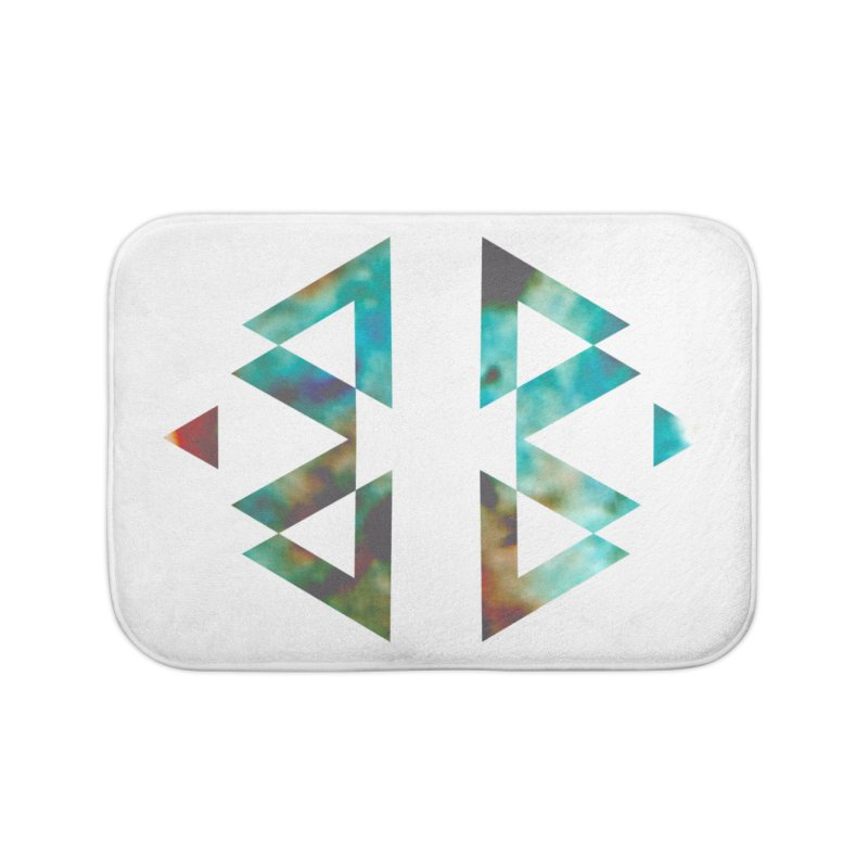 Geometriz Home Bath Mat by Cordelia Denise