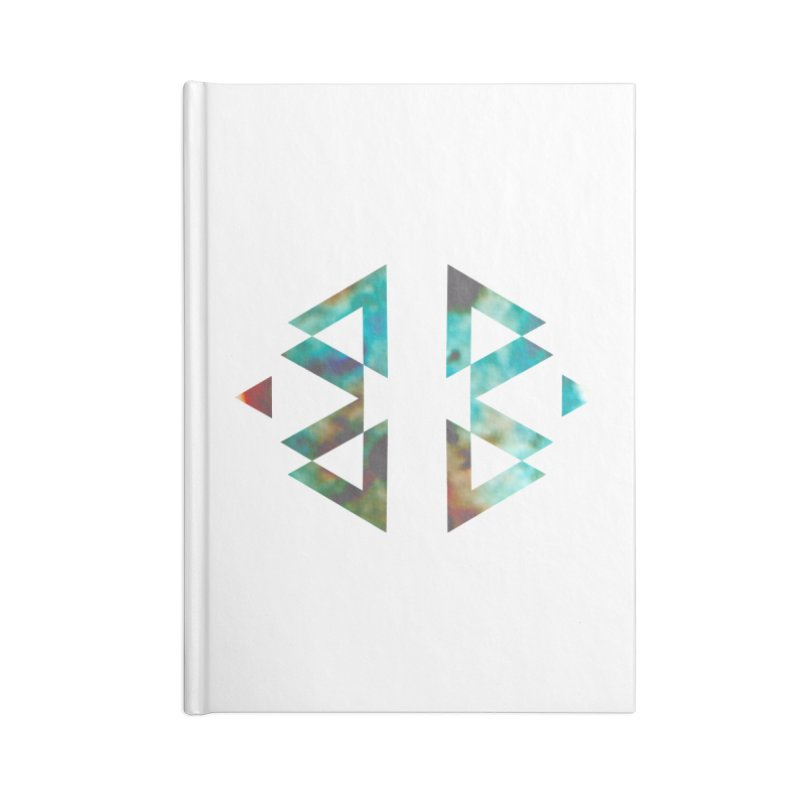 Geometriz Accessories Notebook by Cordelia Denise