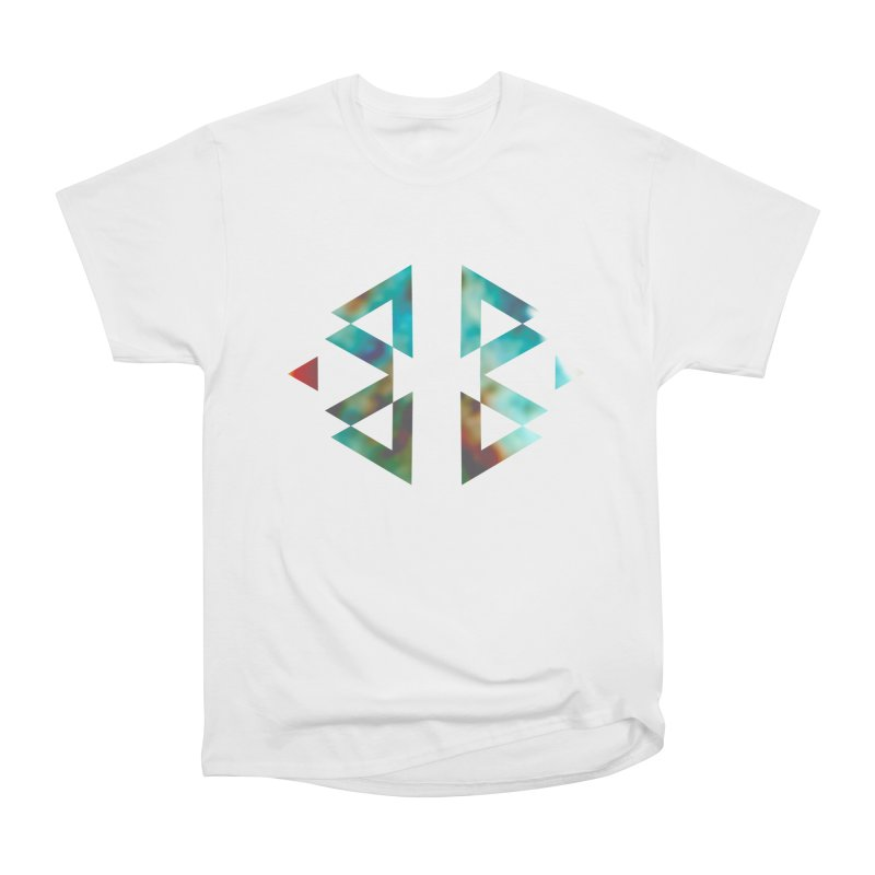 Geometriz Men's Heavyweight T-Shirt by Cordelia Denise