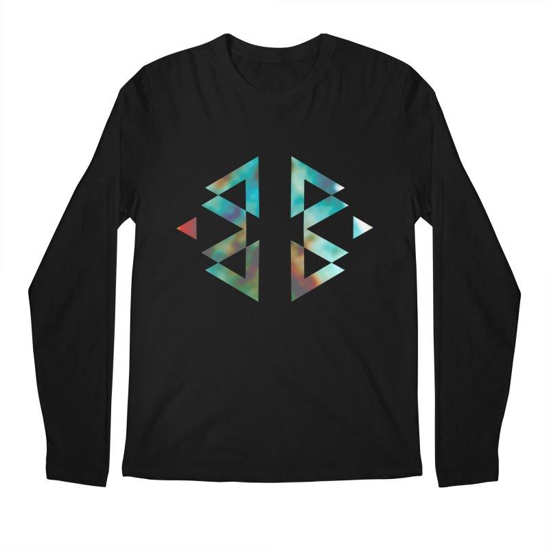Geometriz Men's Longsleeve T-Shirt by Cordelia Denise