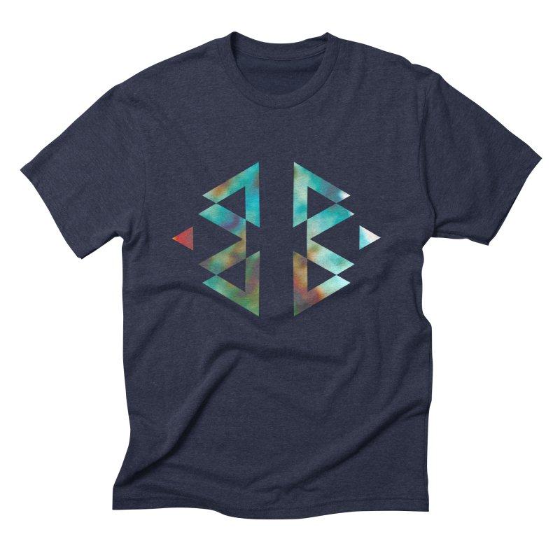 Geometriz Men's Triblend T-Shirt by Cordelia Denise