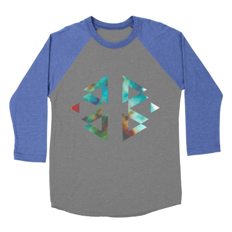 Geometriz Women's Baseball Triblend T-Shirt by Cordelia Denise