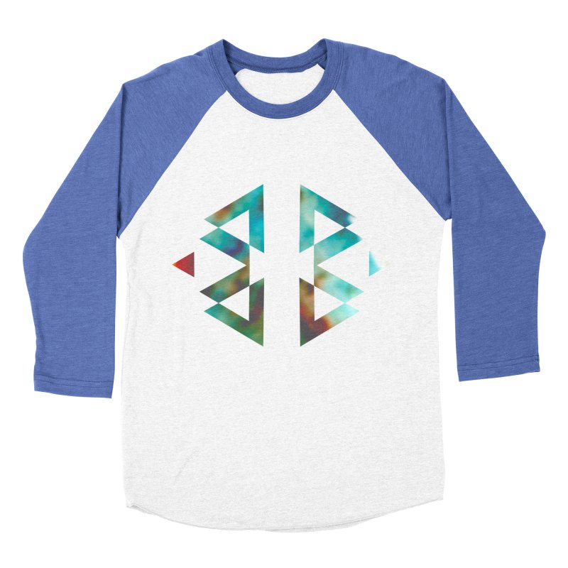 Geometriz Men's Baseball Triblend T-Shirt by Cordelia Denise