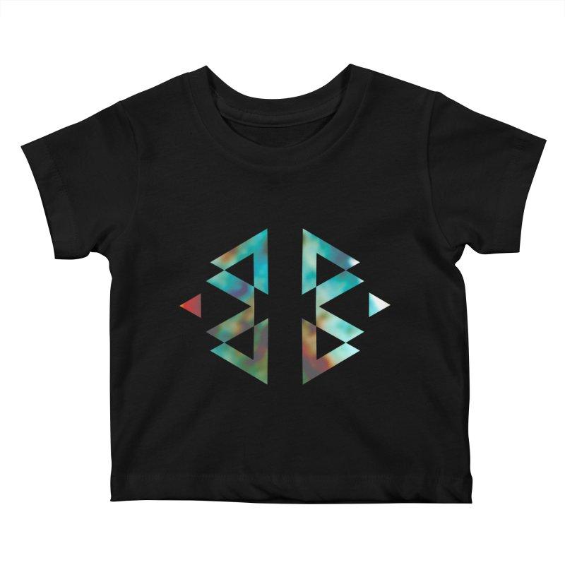 Geometriz Kids Baby T-Shirt by Cordelia Denise