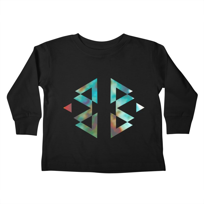 Geometriz Kids Toddler Longsleeve T-Shirt by Cordelia Denise