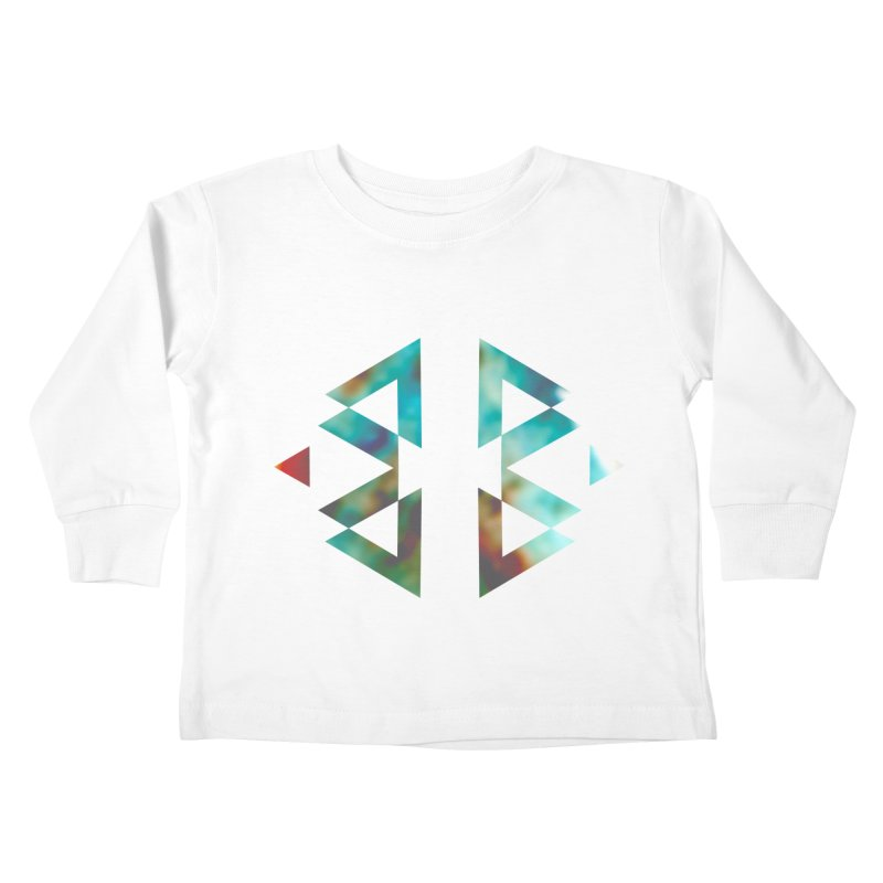 Geometriz Kids Toddler Longsleeve T-Shirt by Cordelia Denise