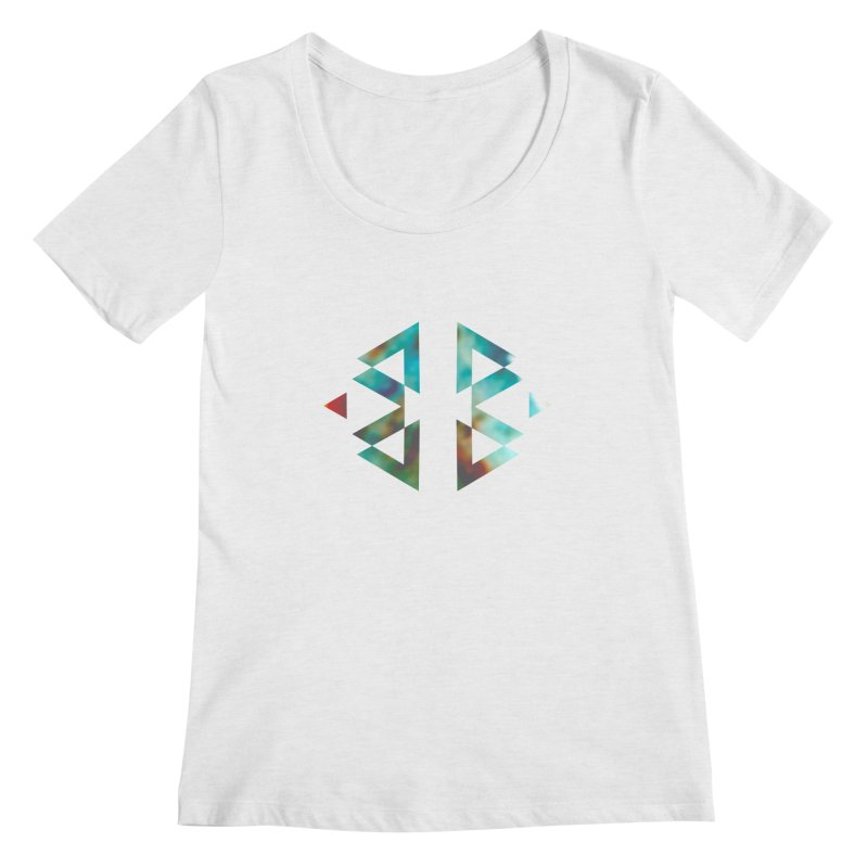 Geometriz Women's Scoopneck by Cordelia Denise