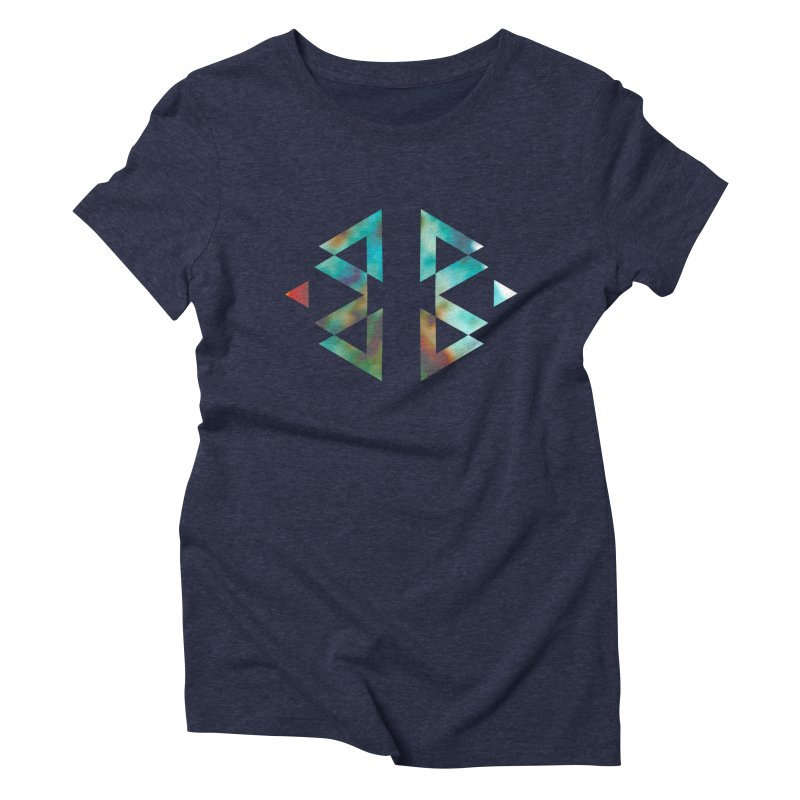 Geometriz Women's Triblend T-Shirt by Cordelia Denise