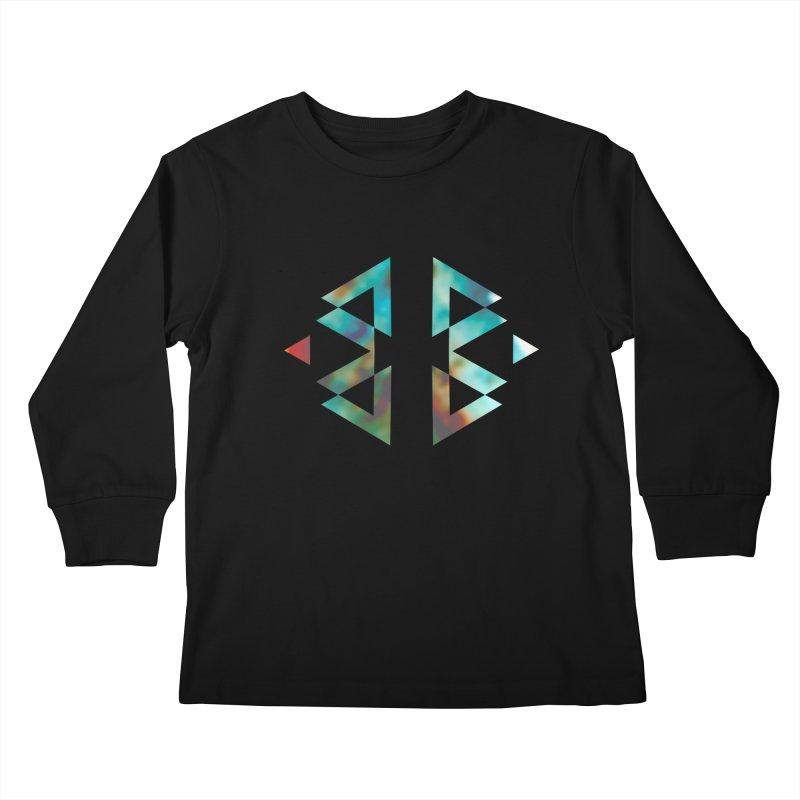 Geometriz Kids Longsleeve T-Shirt by Cordelia Denise