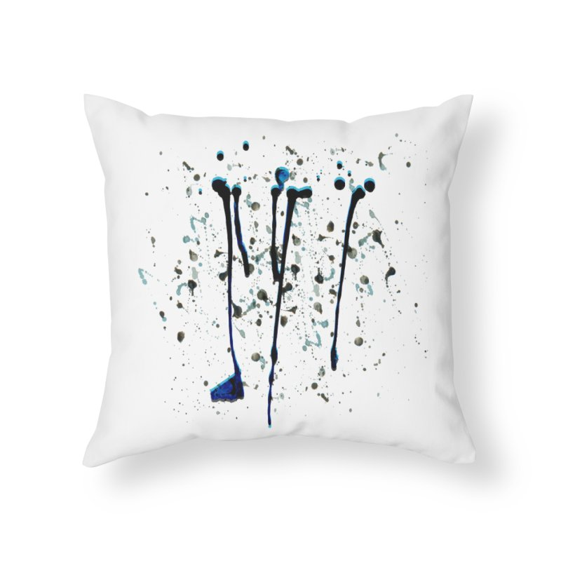 Take Splat! Home Throw Pillow by Cordelia Denise
