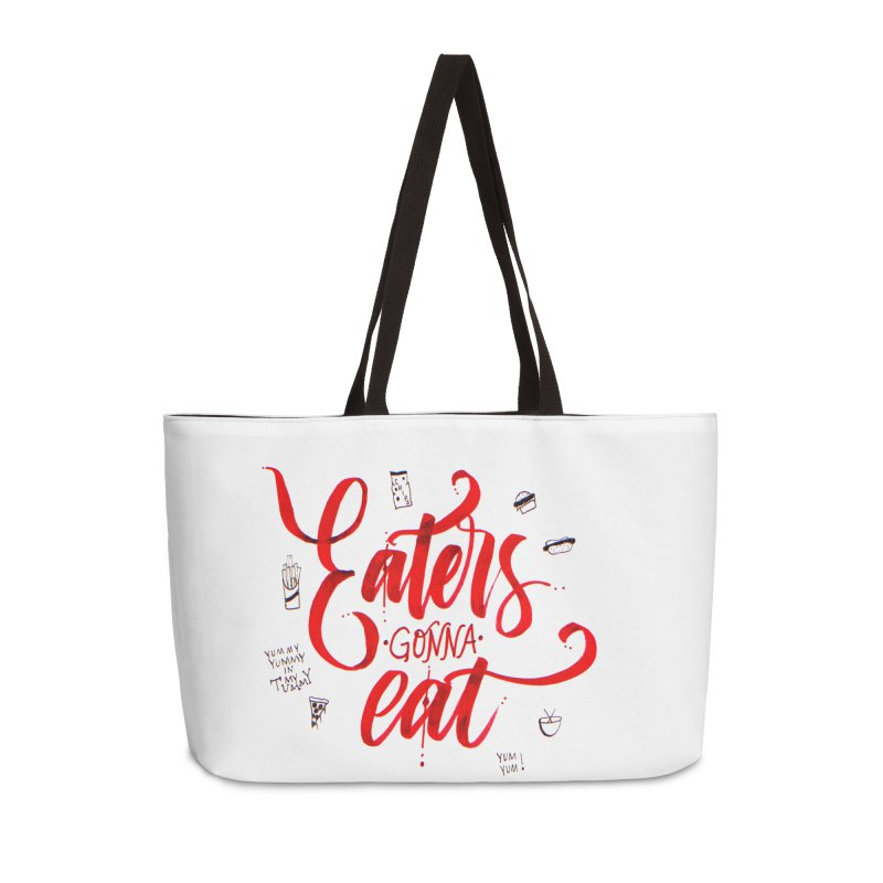 Eaters Gonna Eat Accessories Bag by Cordelia Denise