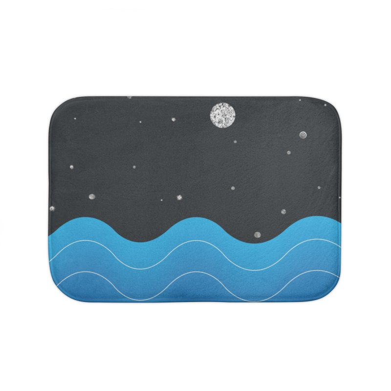 Night Sea Home Bath Mat by Cordelia Denise