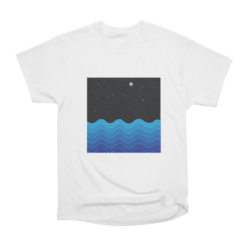Night Sea Men's Classic T-Shirt by Cordelia Denise
