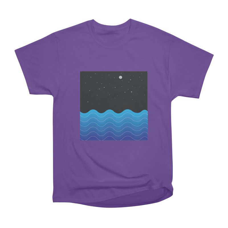 Night Sea Women's Classic Unisex T-Shirt by Cordelia Denise