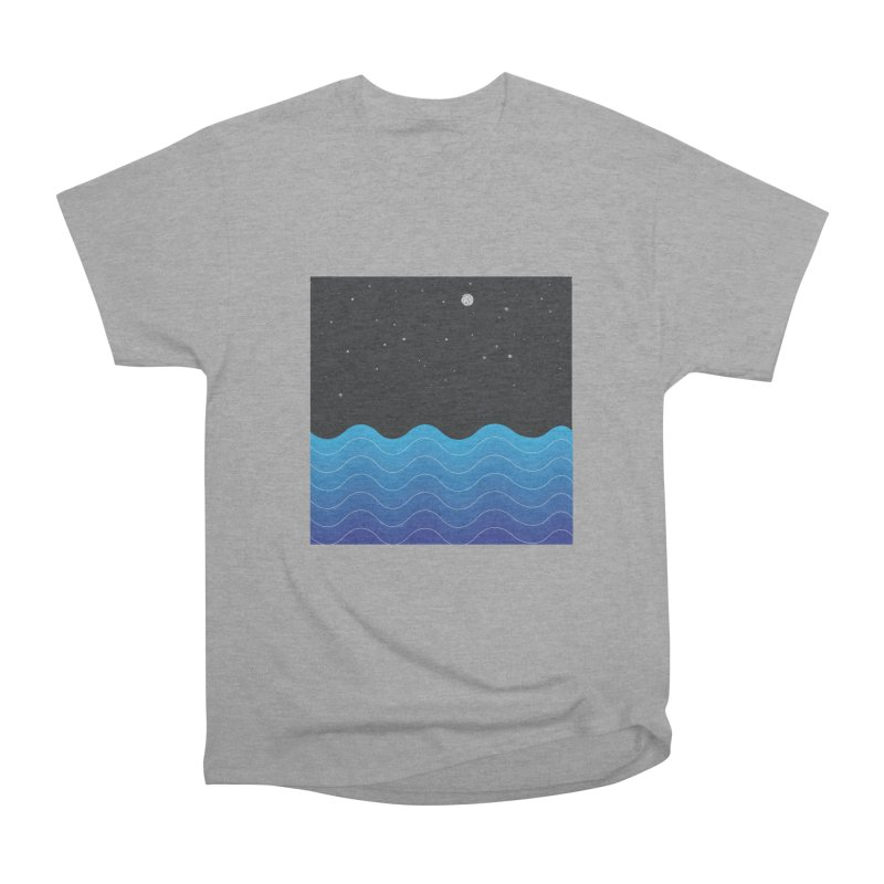 Night Sea Men's Classic T-Shirt by Cordelia Denise