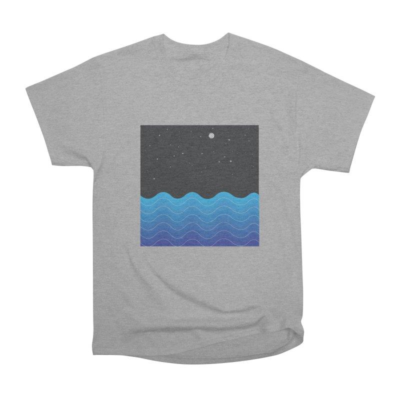 Night Sea Women's Classic Unisex T-Shirt by Cordelia Denise