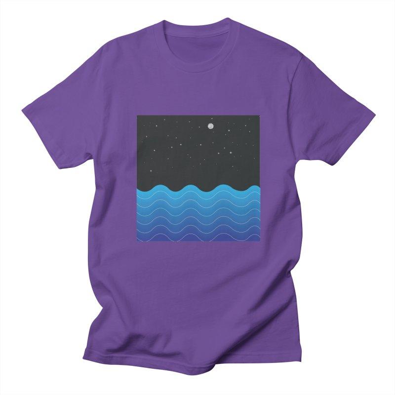 Night Sea Women's Unisex T-Shirt by Cordelia Denise