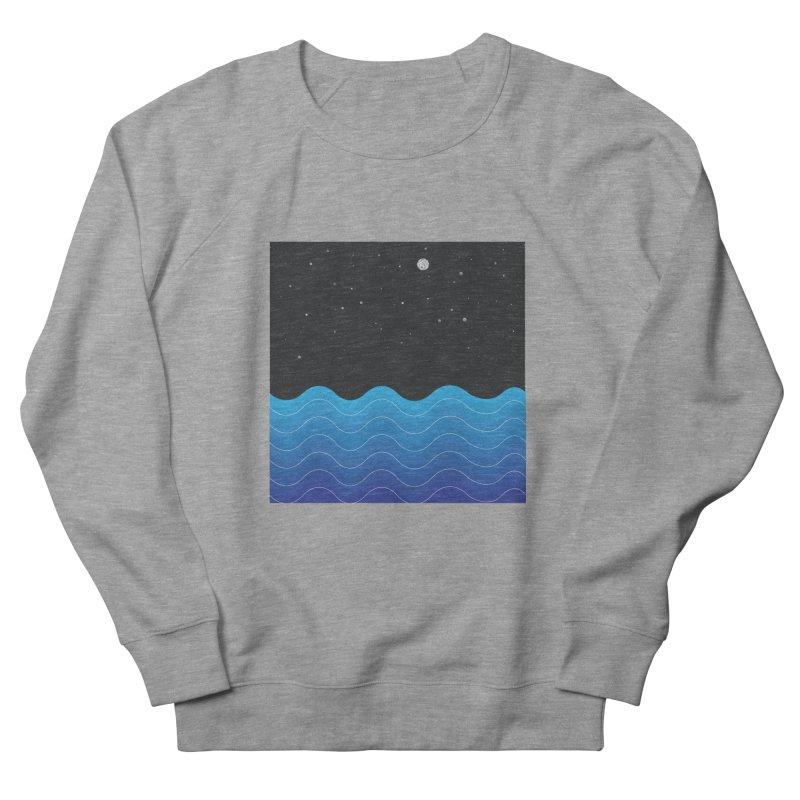 Night Sea Men's Sweatshirt by Cordelia Denise