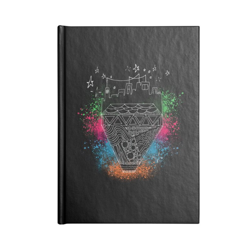 Bling City-White Accessories Notebook by Cordelia Denise