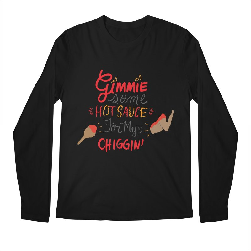 Gimmie Some HS! Men's Longsleeve T-Shirt by Cordelia Denise