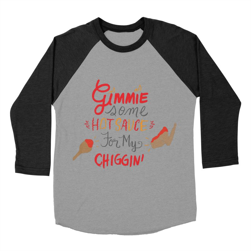 Gimmie Some HS! Men's Baseball Triblend T-Shirt by Cordelia Denise