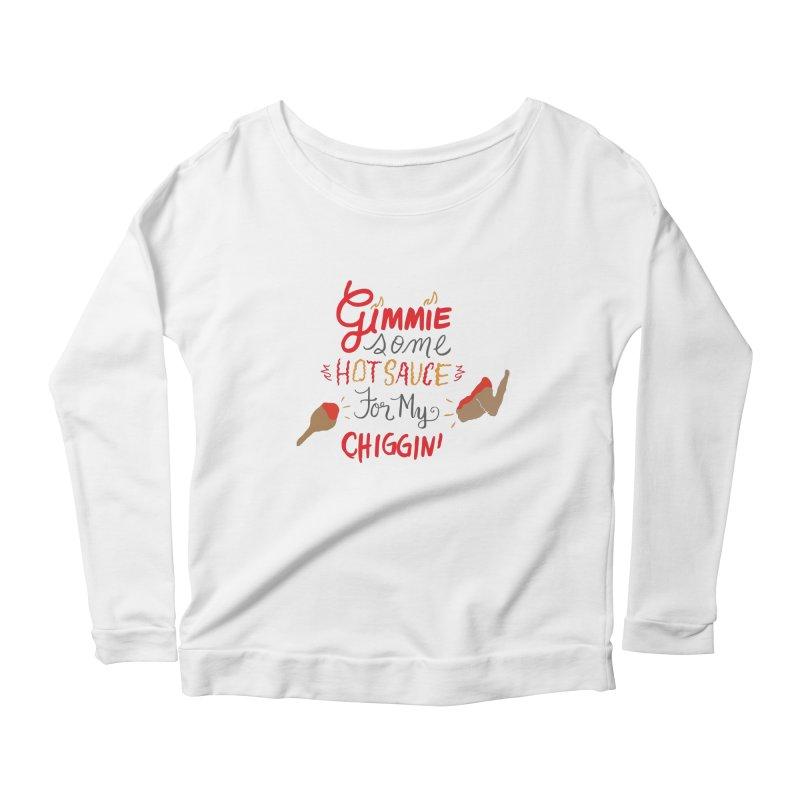 Gimmie Some HS! Women's Longsleeve Scoopneck  by Cordelia Denise