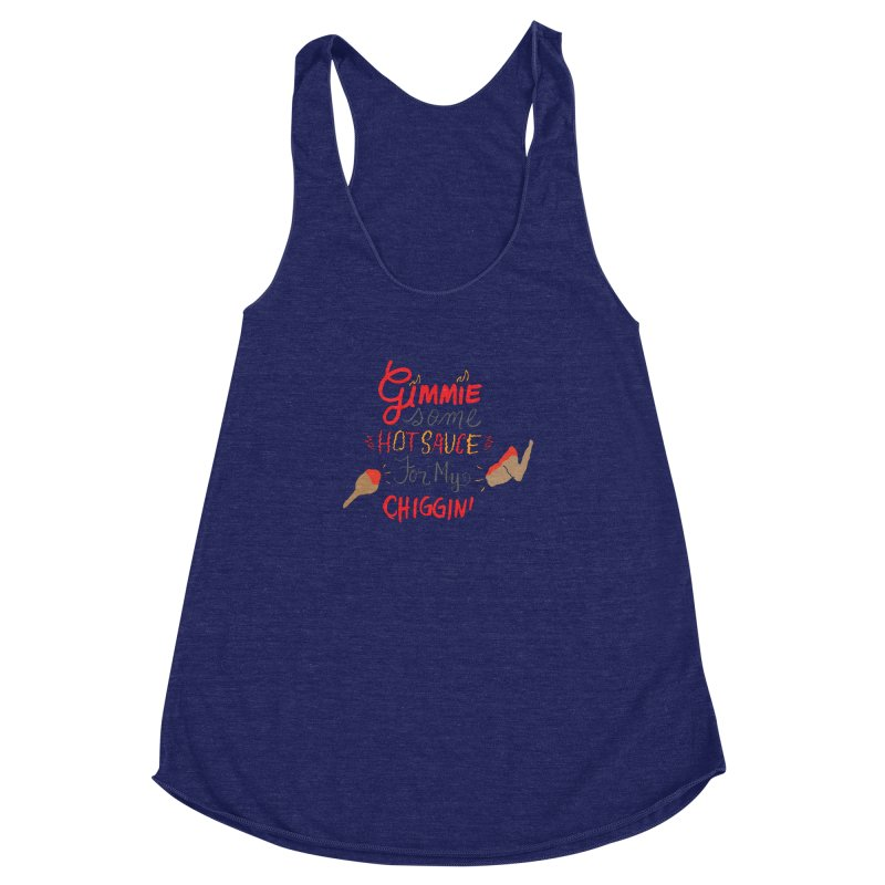 Gimmie Some HS! Women's Racerback Triblend Tank by Cordelia Denise