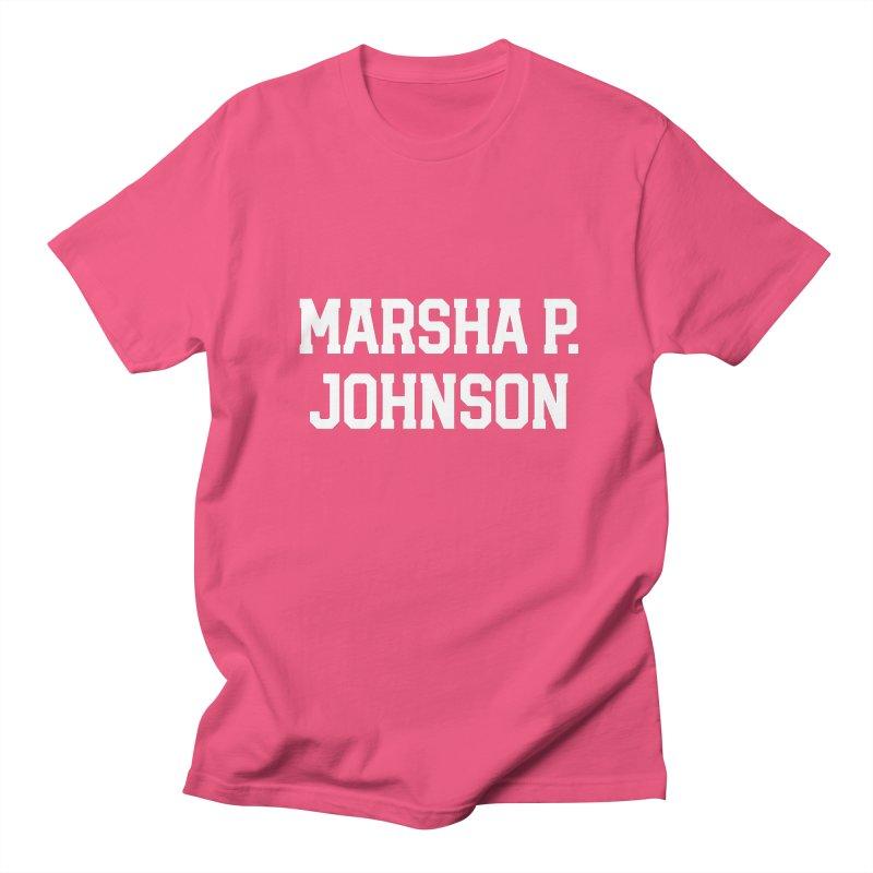MARSHA MARSHA MARSHA Men's Regular T-Shirt by Coreyography