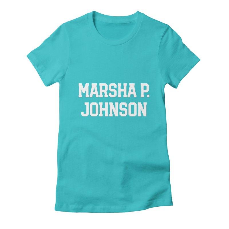 MARSHA MARSHA MARSHA Women's T-Shirt by Coreyography