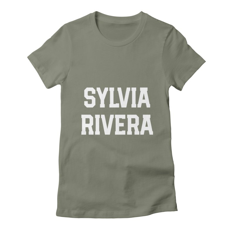 THANK YOU SYLVIA RIVERA Women's Fitted T-Shirt by Coreyography