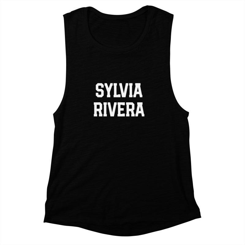 THANK YOU SYLVIA RIVERA Women's Muscle Tank by Coreyography