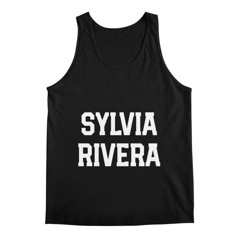 THANK YOU SYLVIA RIVERA Men's Regular Tank by Coreyography