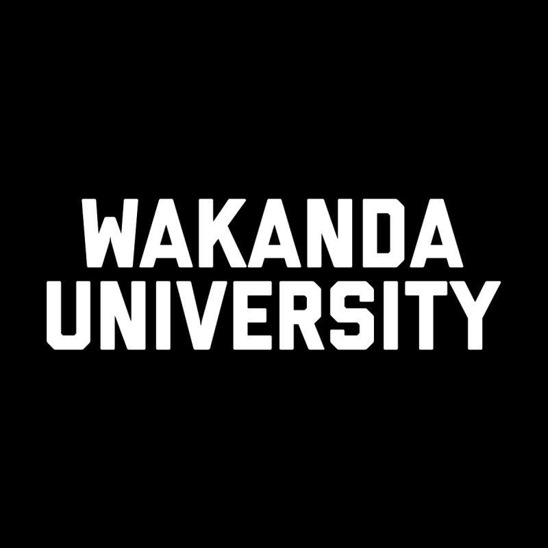 WAKANDA UNIVERSITY Men's T-Shirt by Coreyography