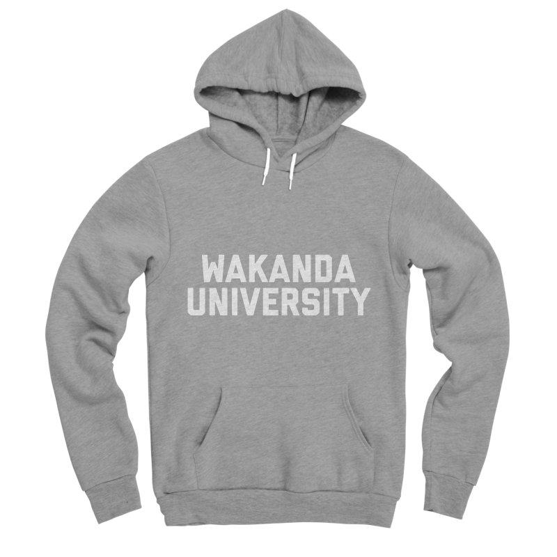 WAKANDA UNIVERSITY Men's Sponge Fleece Pullover Hoody by Coreyography