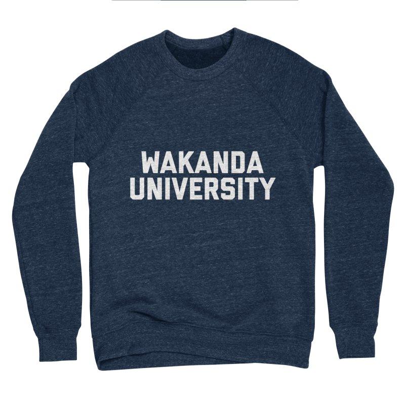 WAKANDA UNIVERSITY Women's Sponge Fleece Sweatshirt by Coreyography