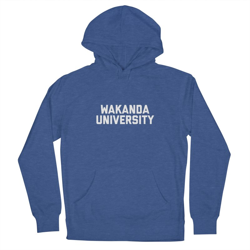 WAKANDA UNIVERSITY Men's French Terry Pullover Hoody by Coreyography
