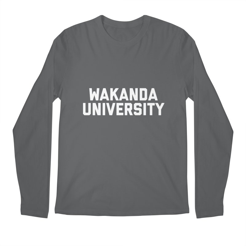 WAKANDA UNIVERSITY Men's Longsleeve T-Shirt by Coreyography
