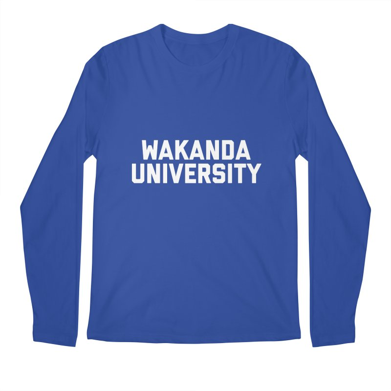 WAKANDA UNIVERSITY Men's Regular Longsleeve T-Shirt by Coreyography