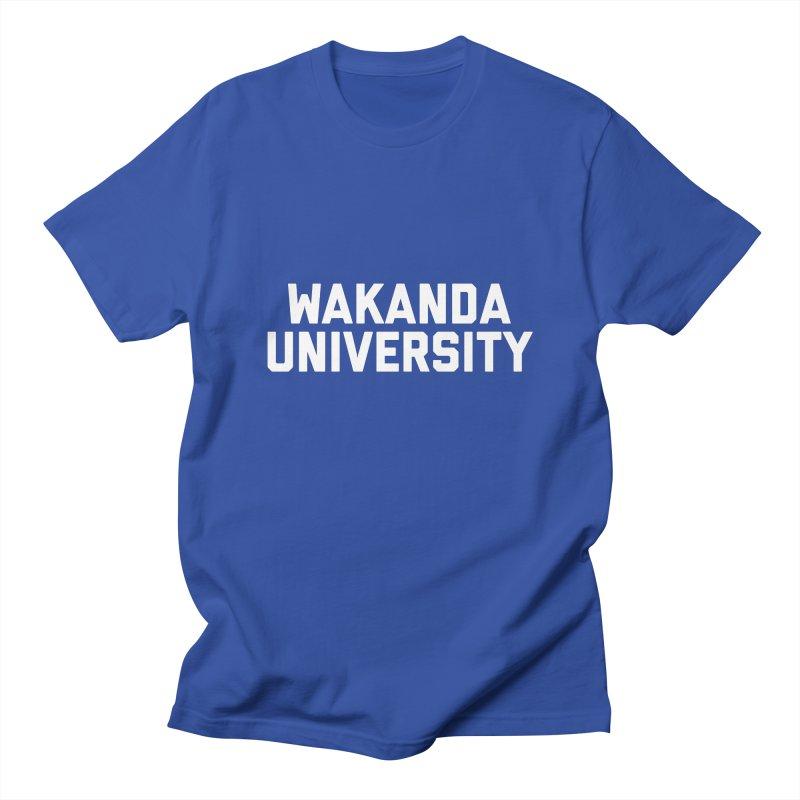 WAKANDA UNIVERSITY Men's T-Shirt by Coreyography