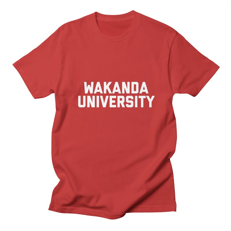 WAKANDA UNIVERSITY Men's Regular T-Shirt by Coreyography