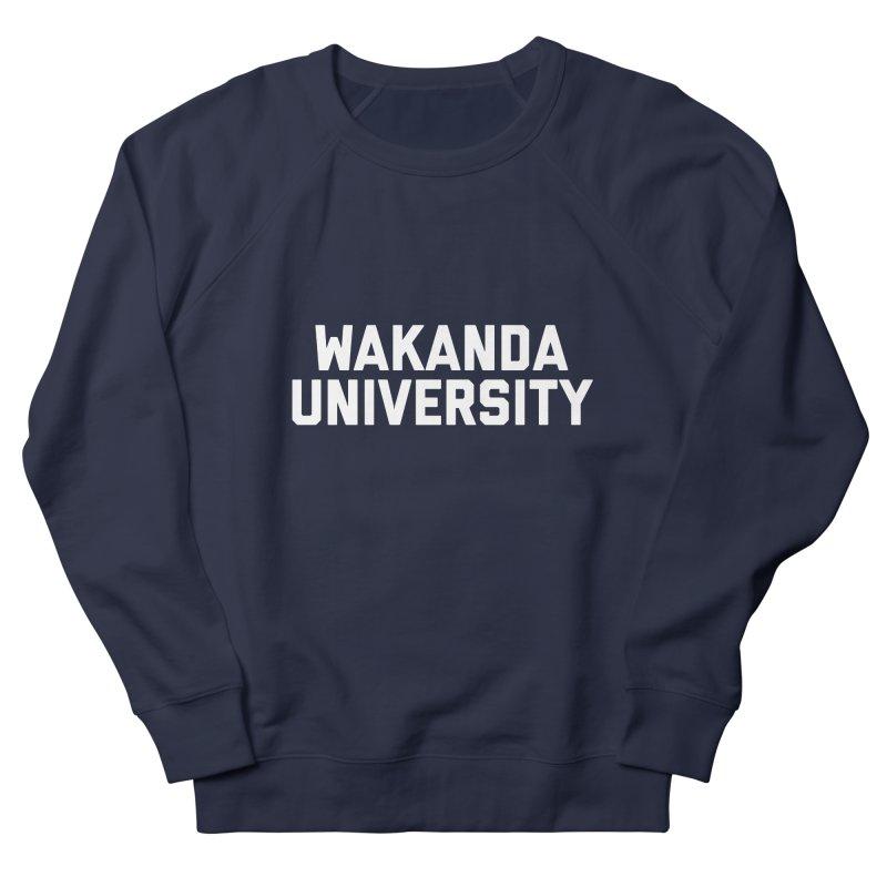 WAKANDA UNIVERSITY Men's French Terry Sweatshirt by Coreyography