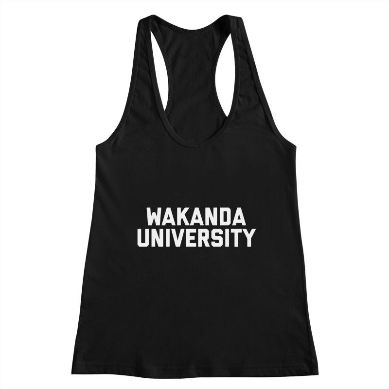 WAKANDA UNIVERSITY Women's Tank by Coreyography