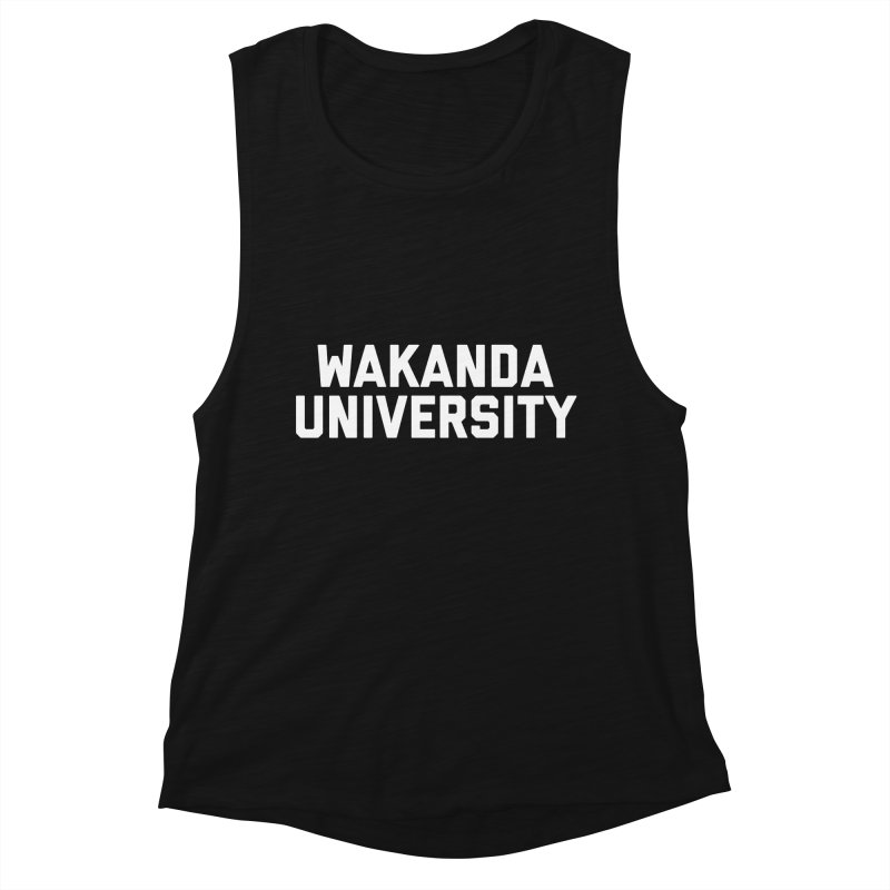 WAKANDA UNIVERSITY Women's Tank by Coreyography