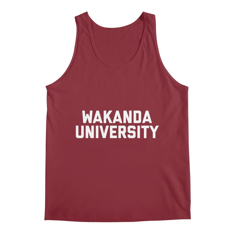 WAKANDA UNIVERSITY Men's Tank by Coreyography