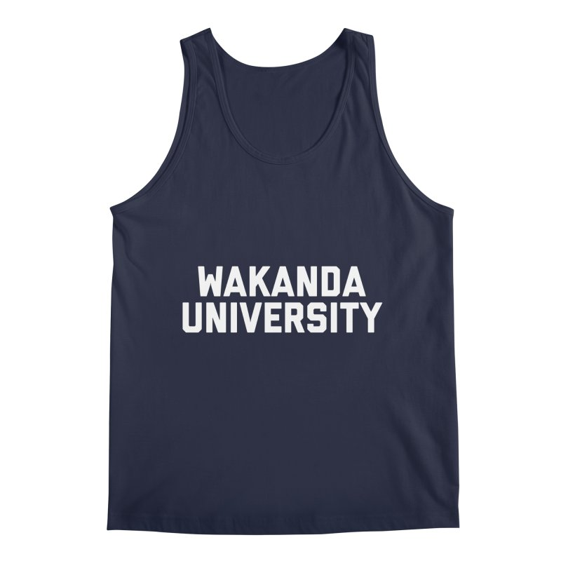 WAKANDA UNIVERSITY Men's Tank by Coreyography