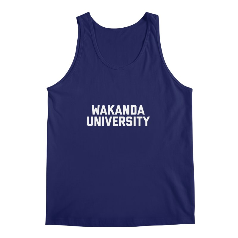 WAKANDA UNIVERSITY Men's Regular Tank by Coreyography