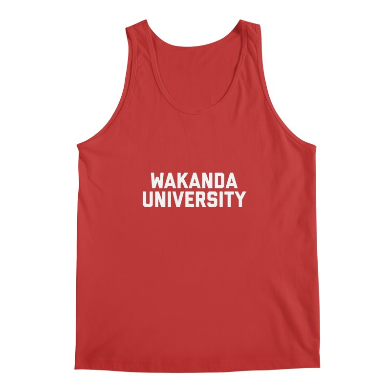 WAKANDA UNIVERSITY Men's Regular Tank by Coreyography