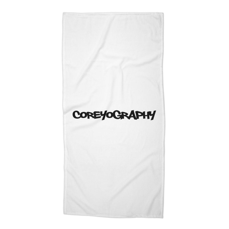 COREYOGRAPHY SWAG Accessories Beach Towel by Coreyography